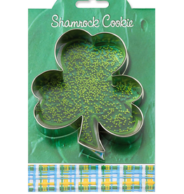 Ann Clark Cookie Cutter St Paddys Shamrock with Recipe Card, MMC