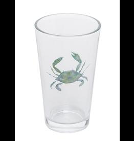 Beachcombers Blue Crab Bistro Pub Glass