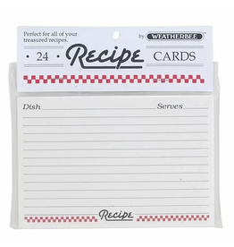 Harold Imports Recipe Cards 4x6, set of 24
