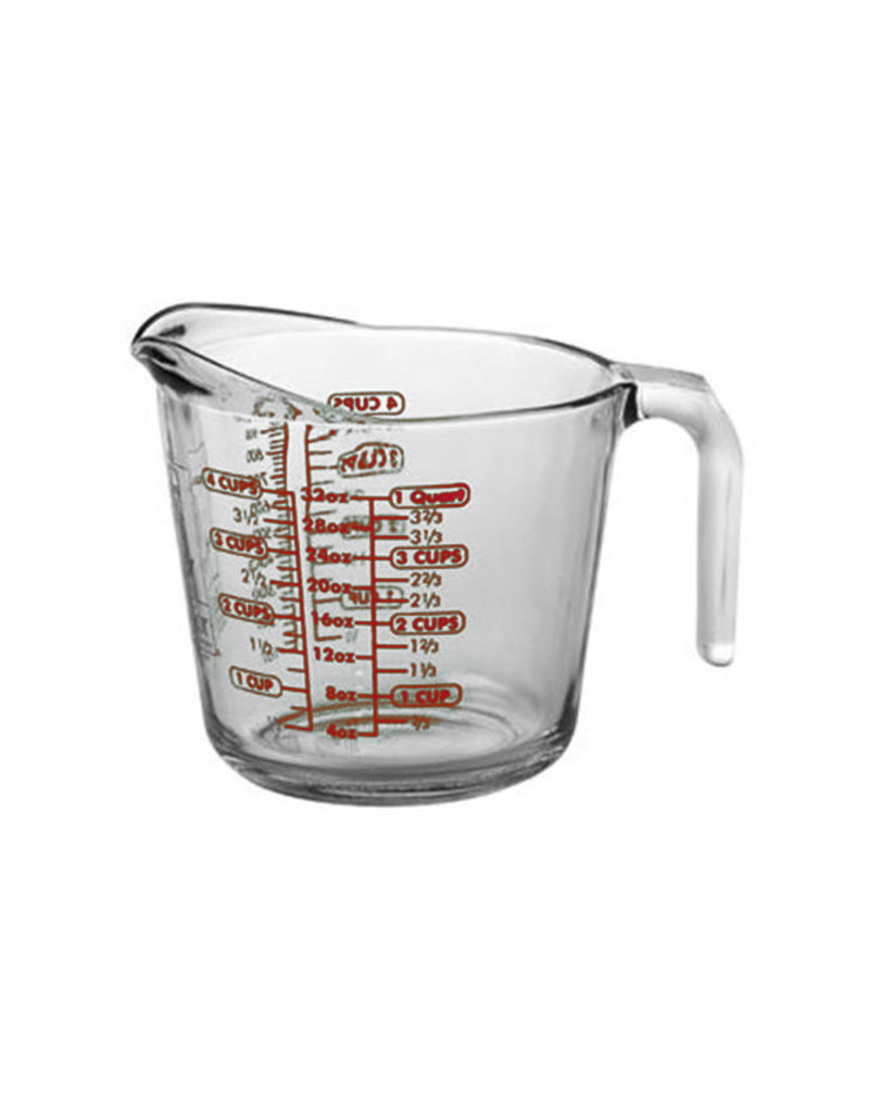 Harold Imports Anchor Hocking 4 Cup Glass Measuring Cup/3