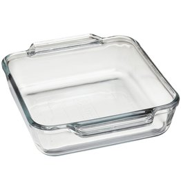Harold Imports Anchor Hocking Tempered Glass Square Baking Dish,8x8 --3