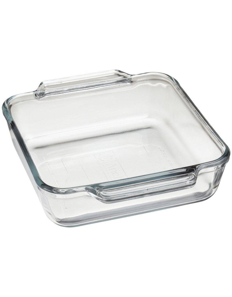 Harold Imports Anchor Hocking Tempered Glass Square Baking Dish,8x8/3