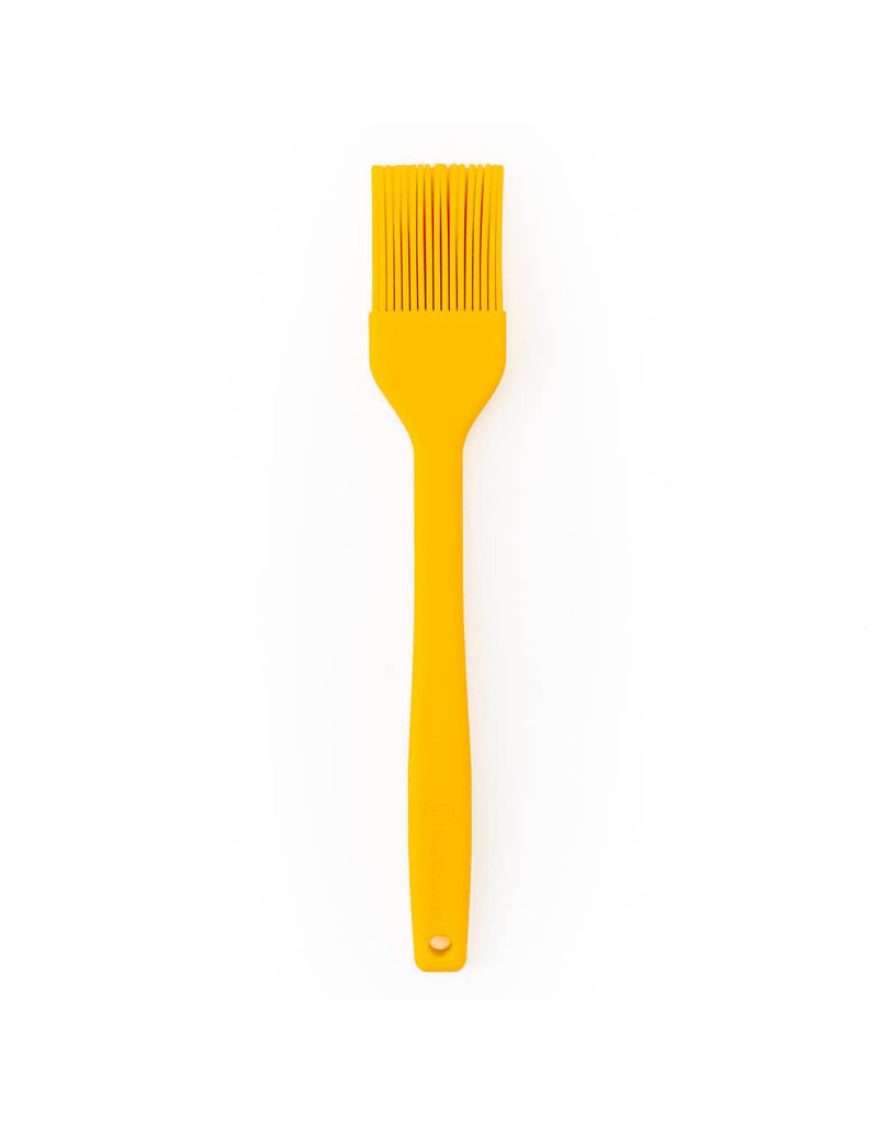 """Thermoworks High Heat (600F) Silicone Basting Brush, 12"""" Yellow"""
