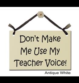 Sign Teacher Voice