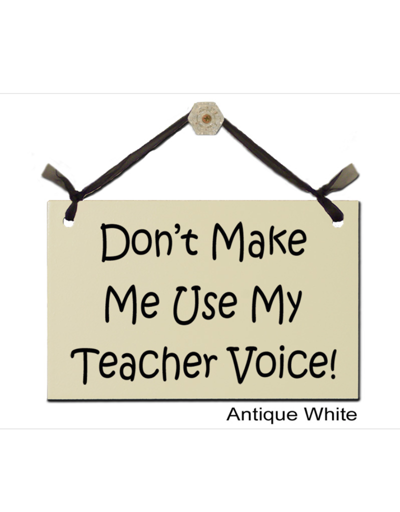 Sign Teacher Voice