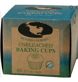 "Harold Imports Beyond Gourmet Unbleached Disposable Baking Cups, 2.5"", 48x"