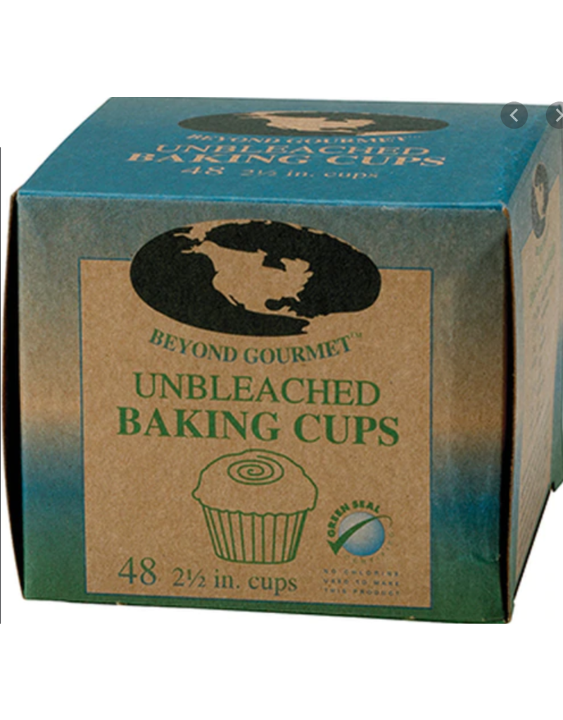 """Harold Imports Beyond Gourmet Unbleached Disposable Baking Cups, 2.5"""", 48x"""