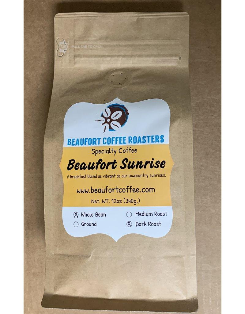 Beaufort Coffee Beaufort Sunrise, Dark Roast, Whole Bean 12oz
