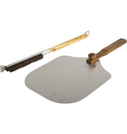 Pizzacraft Pizzacraft Foldable Pizza Peel and Brush Set 14'' cir