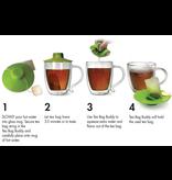 Primula Tea Bag Buddy, Green