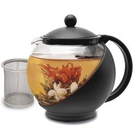 Half Moon Teapot with Removable Infuser, 4 Cups