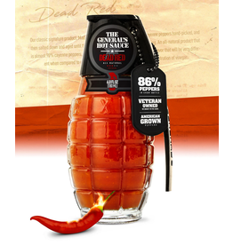 General's Hot Sauce, Dead Red 6oz; Heat:3/5