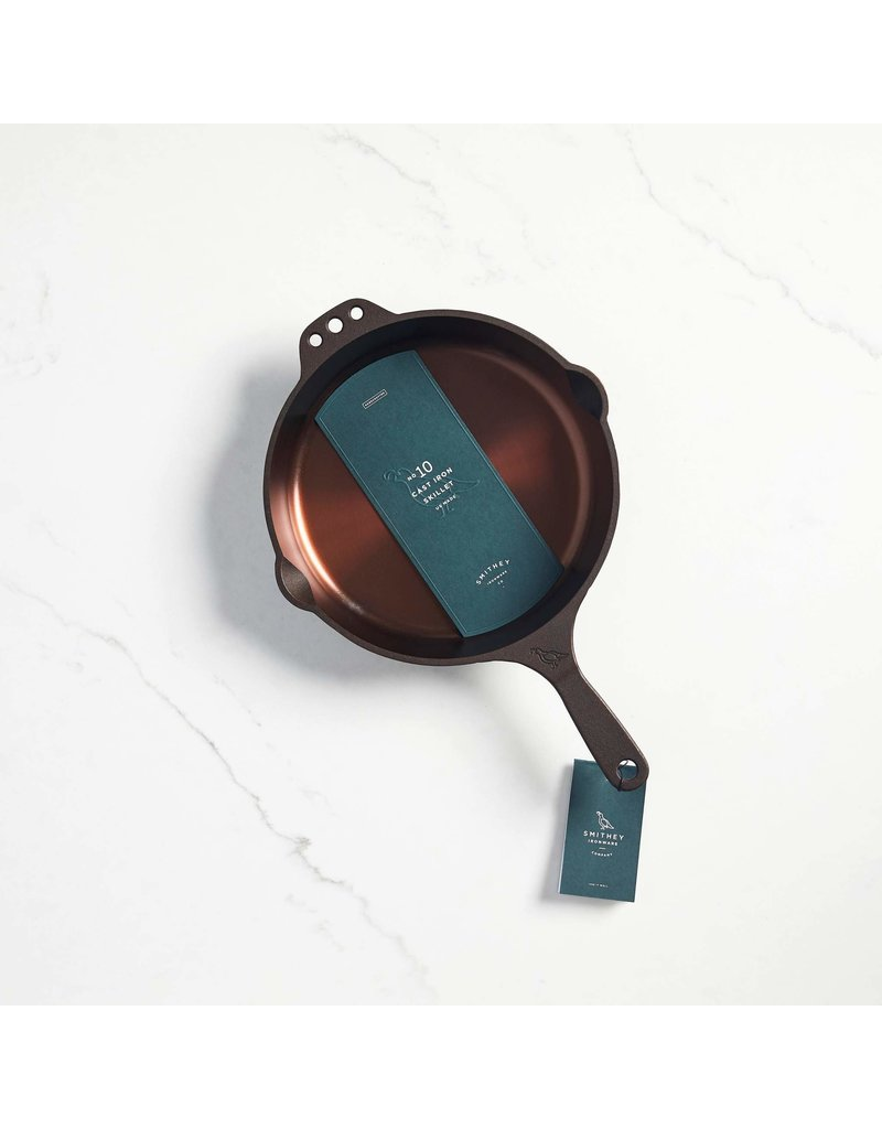 Smithey Ironware No. 10 Cast Iron Skillet-made in SC ciw