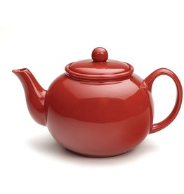 RSVP Teapot, Red, 6 Cup
