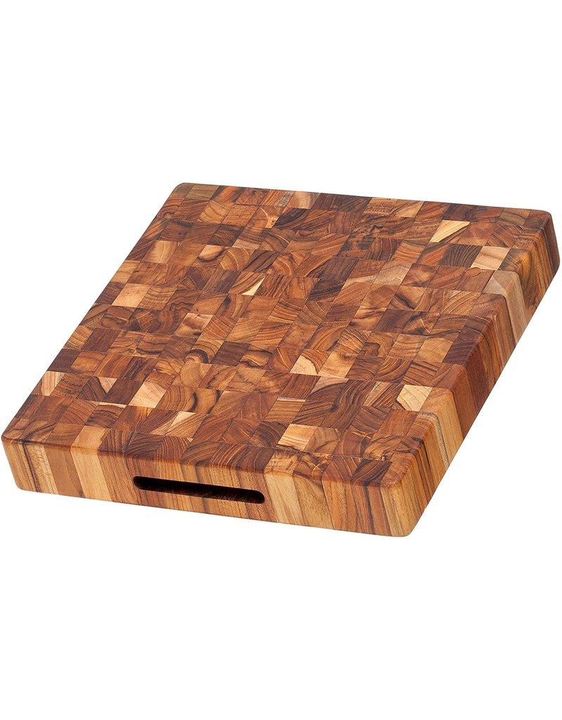 TeakHaus Butcher Block Board, Teakwood,12x12 Square