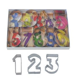 """Numbers Cookie Cutters, 9pc Set 2.5"""""""