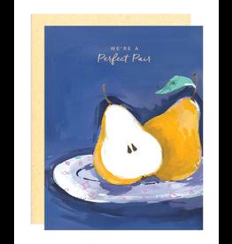 Darling Lemon Greeting Card - Love, Perfect Pear