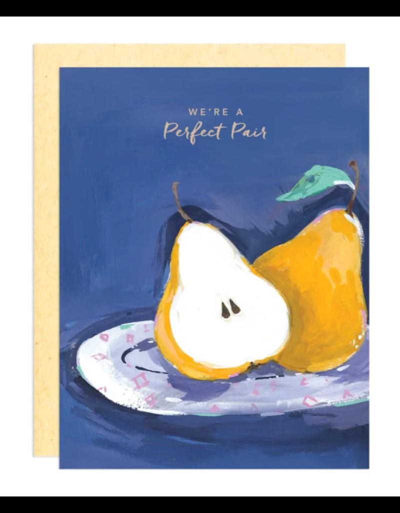 Greeting Card - Love, Perfect Pear