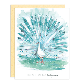 Greeting Card - Birthday, Gorgeous Peacock