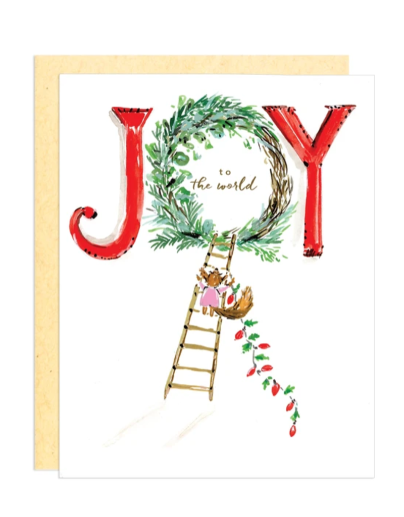 Greeting Card - Holiday, Joy to the World
