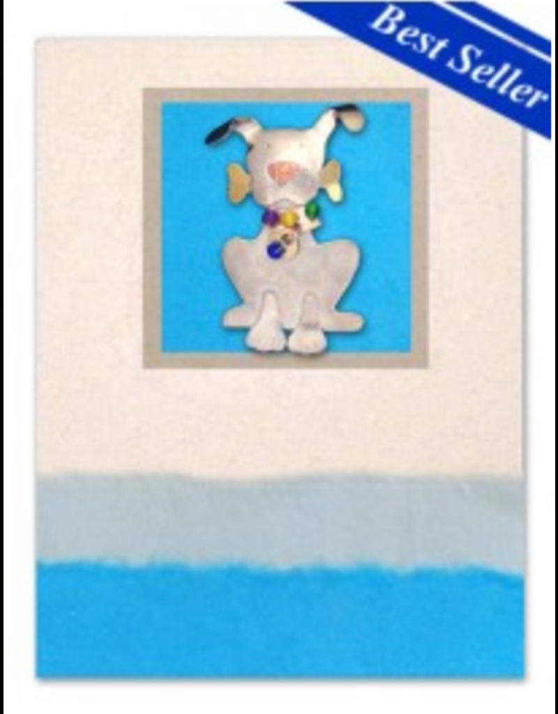 Pilgrim Imports Greeting Card-Mailable Art, Friendship, Ralph Dog
