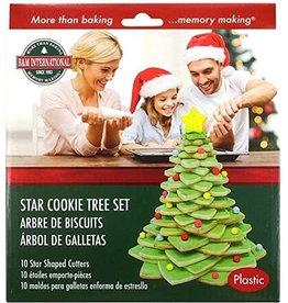 Holiday Christmas Cookie Tree Kit, 10pc Set
