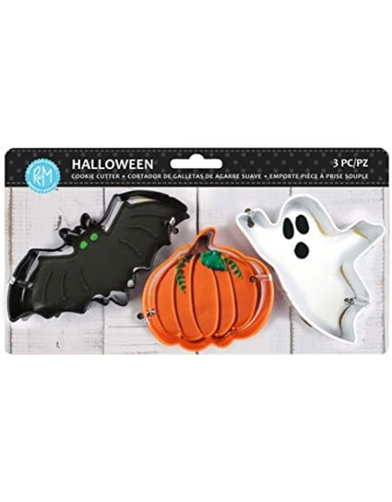 Halloween Cookie Cutters, 3pc Color Set, rm
