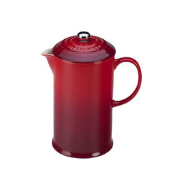 Le Creuset French Press Coffee Maker, Cerise Red