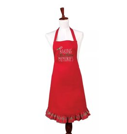 C and F Home Holiday Apron, Baking Xmas Memories, adult