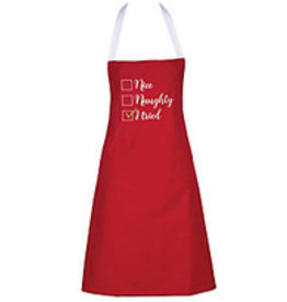 C and F Home Holiday Apron, I Tried