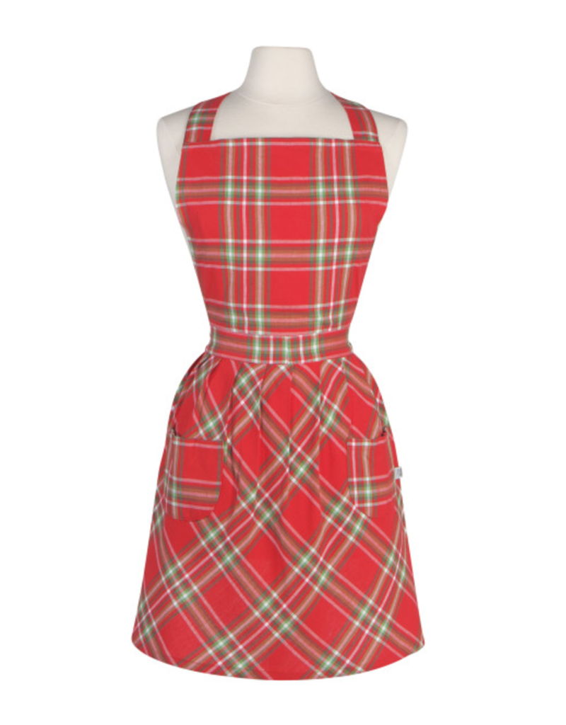 Now Designs Holiday Apron, Noel Classic Plaid