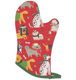 Now Designs Holiday  Mitt Glove, Yule Dogs