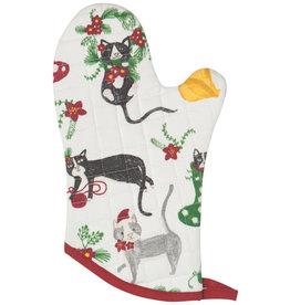 Now Designs Holiday  Mitt Glove, Meowy Christmas