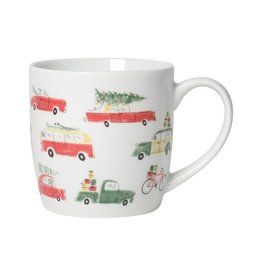 Now Designs Holiday Mug, Holiday Cars