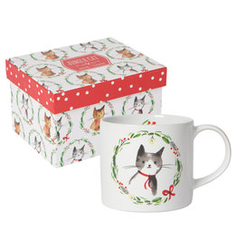 Now Designs Holiday Jingle Cat Mug in a Box