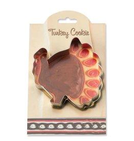 Ann Clark Cookie Cutter Fall Turkey with Recipe Card, MMC