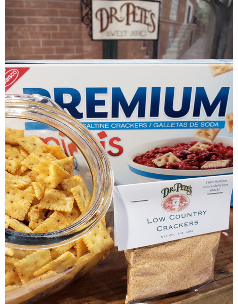 Dr Petes Low Country Cracker Mix 1oz