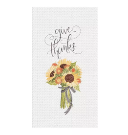 C and F Home Fall Towel, Give Thanks