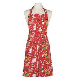 Now Designs Holiday Apron, Yule Dogs