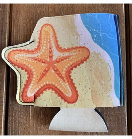 Beachcombers Starfish Can Sleeve / Koozy