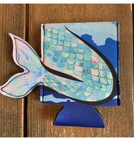 Beachcombers Mermaid Tail Can Sleeve / Koozy
