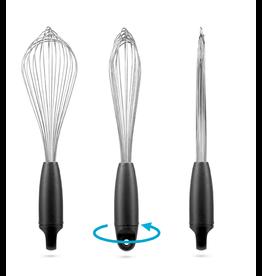 DreamFarm Flisk 1 in 1 Ballon & Flat Whisk, BLACK