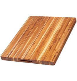 TeakHaus Professional Heavy Duty Cutting Board, Teakwood, 24x18 Rectangular ciw