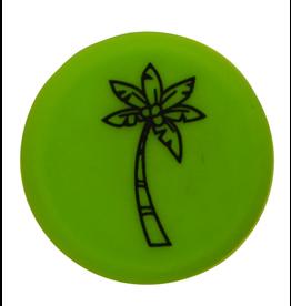 Capabunga Capabunga Leak-Proof Wine Cap, Green Palm