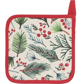 Now Designs Holiday Potholder, Bough and Berry