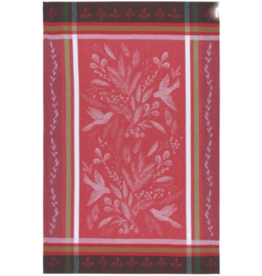 Now Designs Holiday Dish Towel, Winterbough, jacquard