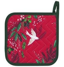 Now Designs Holiday Potholder, Winterbough