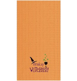 C and F Home Halloween Towel Drink Up Witches