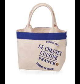 Le Creuset Le Creuset Mini Canvas Bag, blue