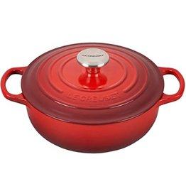 Le Creuset Enameled Cast Iron Signature Sauteuse Oven, 3.5Qt, Cerise Red